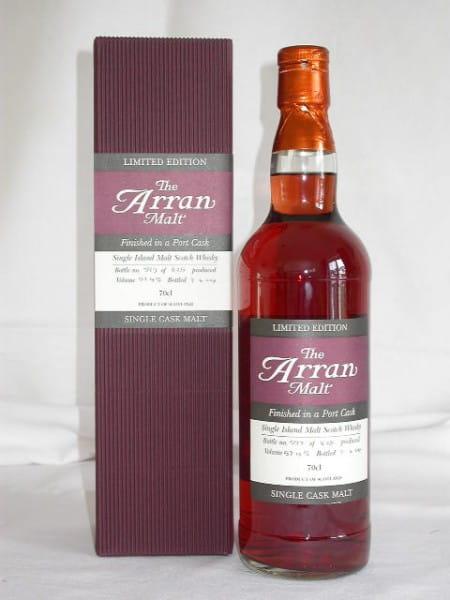 Arran 1997/2004 Port Cask Finish No.3 57,4%vol. 0,7l