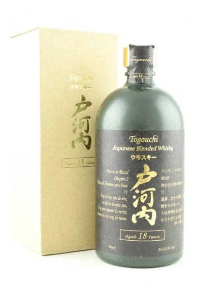 Togouchi 18 Jahre Blended Whisky 43,8%vol. 0,7l