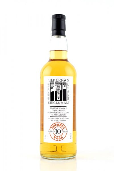 Kilkerran 10 Jahre Fresh Bourbon Wood 46%vol. 0,7l