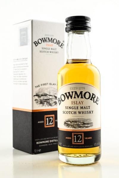 Bowmore 12 Jahre 40%vol. 0,05l
