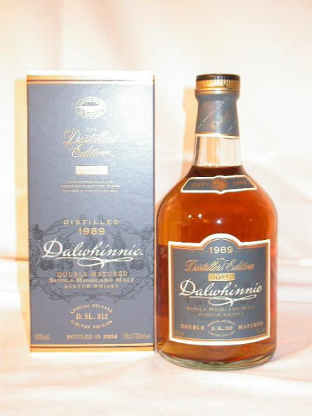 Dalwhinnie 1989/2004 Distillers Edition 43%vol. 0,7l