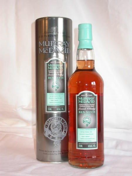 Ben Nevis 1999/2005 Bourbon/Port Murray McDavid 46%vol. 0,7l