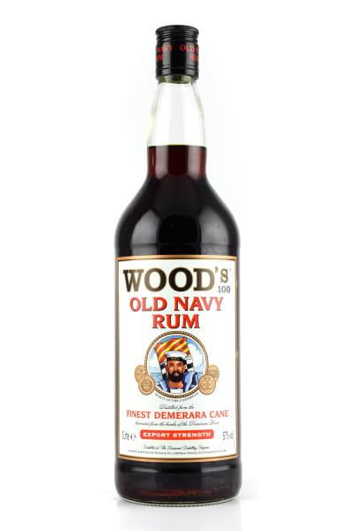 Wood's Old Navy Rum 57%vol. 1,0l