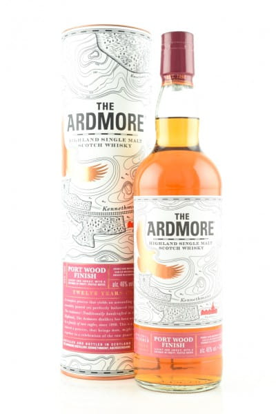 Ardmore 12 Jahre Port Wood Finish 46%vol. 0,7l