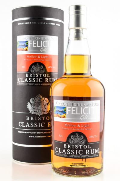 Caroni Felicite Gold Bristol Classic Rum 40%vol. 0,7l