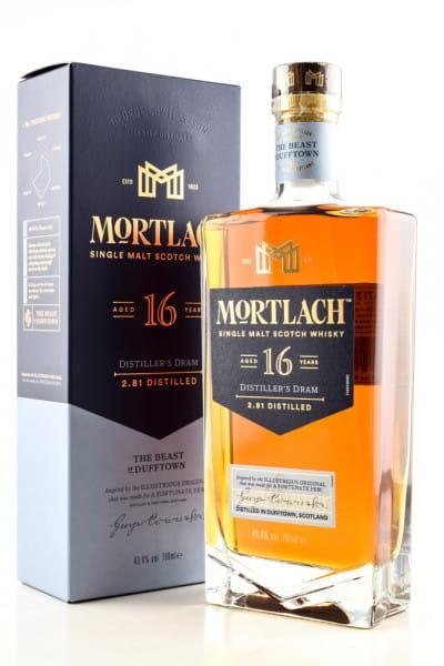 Mortlach 16 Jahre 43,4%vol. 0,7l