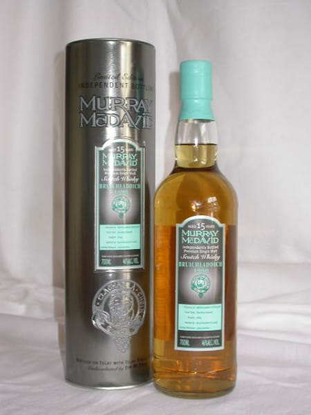 *Bruichladdich 90/05 Bourbon Squat Cask Murray McDavid 46%vol. 0,7l