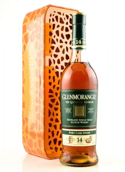 Glenmorangie 14 Jahre The Quinta Ruban 46%vol. 0,7l - Giraffe Limited Edition
