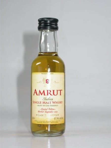 Amrut Cask Strength Bottled September 2007 - Indien - 61,9%vol. 0,05l