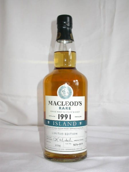 MacLeod's Rare 1991 Cask No. 3076-3079 (Talisker) 43%vol. 0,7l