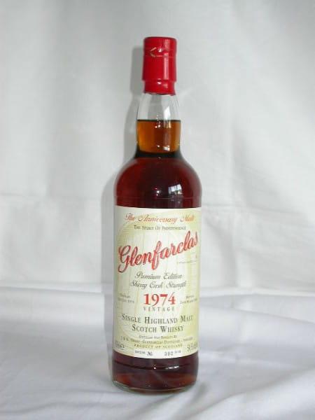 Glenfarclas 1974/2004 Anniversary Malt 54,5%vol. Sample 0,05l