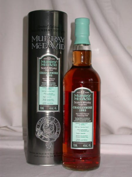 Cragganmore 1993/2006 Bourbon/Syrah Murray McDavid 46%vol. 0,7l