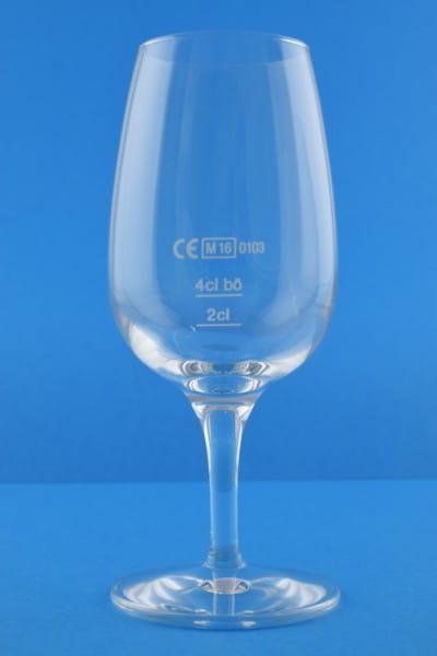 Nosing-Glas - neutral, mit Eichstrichen
