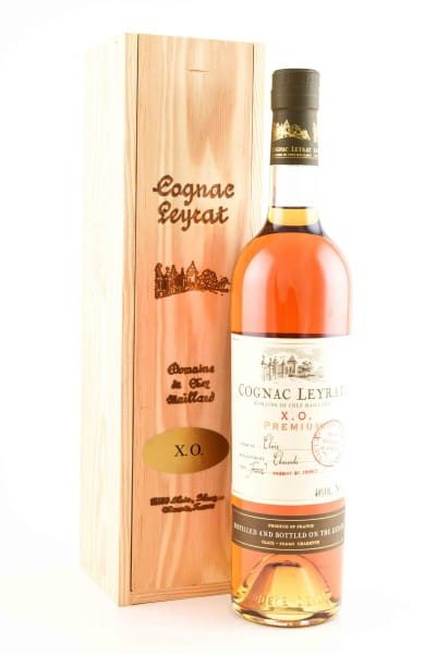 Leyrat X.O. PREMIUM Fine Cognac Fins Bois 40%vol. 0,7l