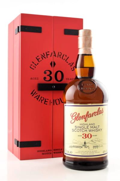 Glenfarclas 30 Jahre 43%vol. 0,7l