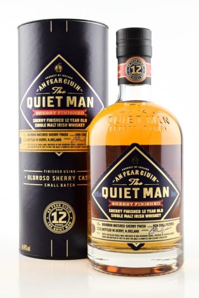 The Quiet Man 12 Jahre Oloroso Sherry Finish 46%vol. 0,7l