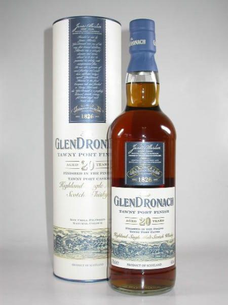 Glendronach 20 Jahre Tawny Port Finish 46%vol. 0,7l