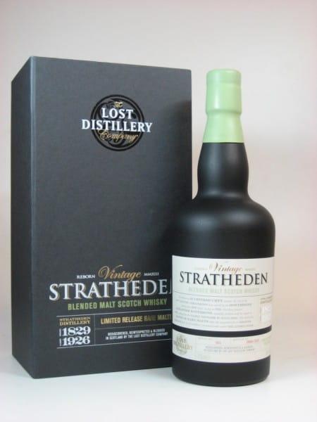 Stratheden Vintage Blended Malt Scotch Whisky - Lost Distillery 46%vol. 0,7l