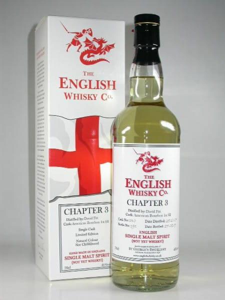 "St George's Distillery ""Chapter 3"" Single Malt Spirit 46%vol. 0,7l"