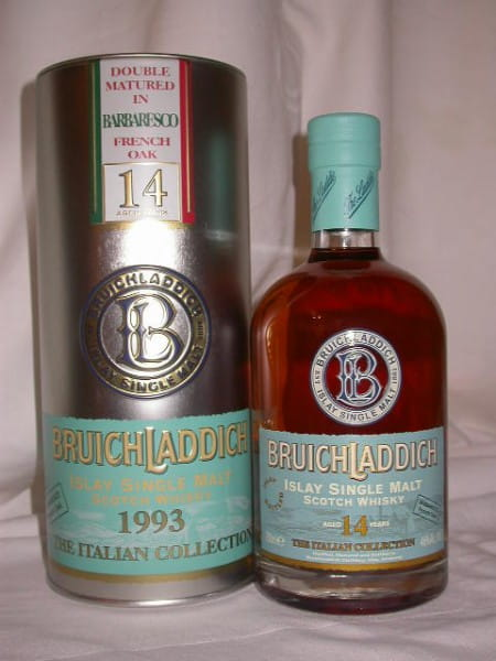 Bruichladdich Italian Collection 1993 Barbaresco 46%vol. 0,7l
