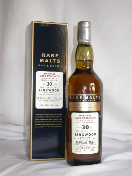Linkwood 30 Jahre 1974/2005 Rare Malts 54,9%vol. 0,7l