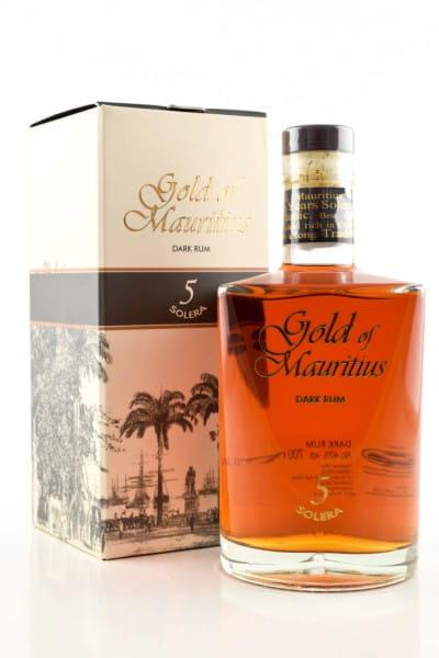 Gold of Mauritius 5 Jahre Solera 40%vol. 0,7l