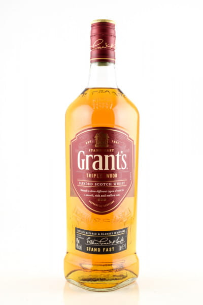 Grant's Triple Wood 40%vol. 1,0l