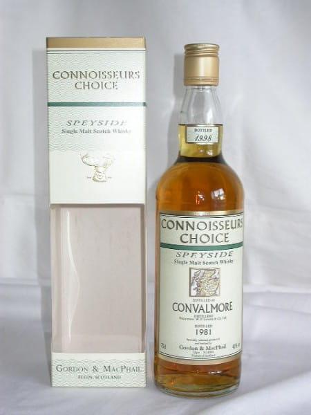 Convalmore 1981/1998 Gordon & MacPhail Connoisseurs Ch. 40%vol. 0,7l