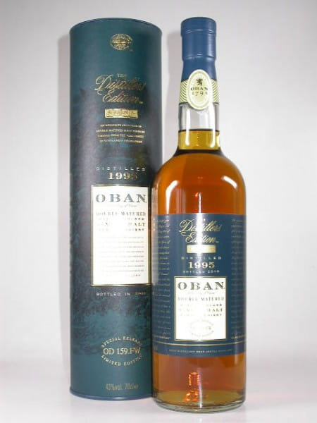 Oban 1995/2010 Distillers Edition 43%vol. 0,7l