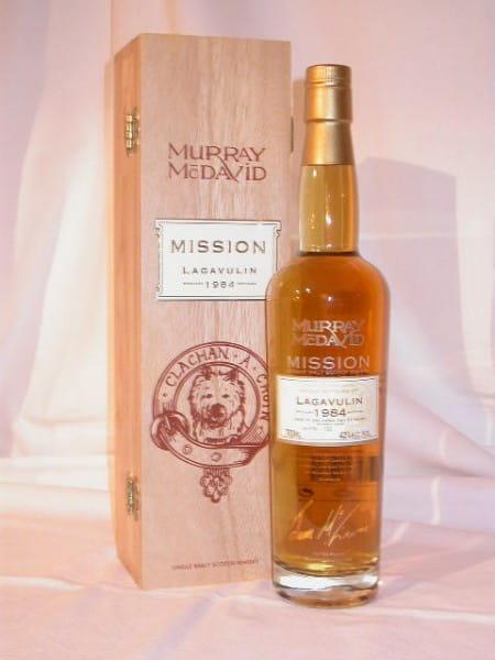 Lagavulin 1984/2006 Murray McDavid Mission C.S. 42%vol. 0,7l