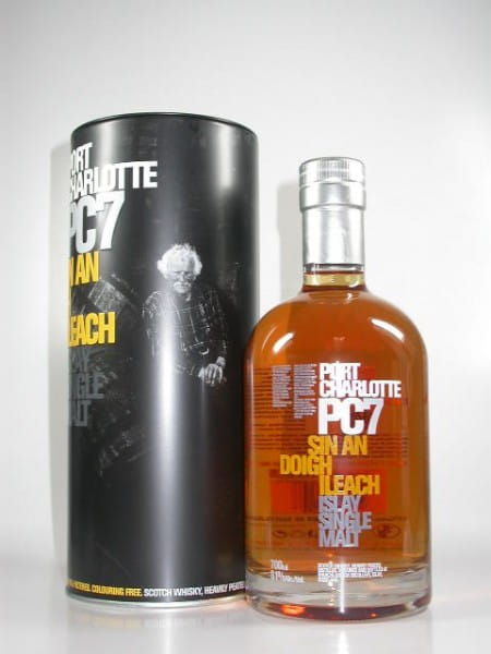 "Port Charlotte PC7 ""Sin an doigh Ileach"" 61%vol. Sample 0,05l"