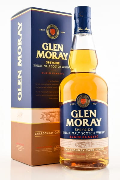 Glen Moray Chardonnay Cask Finish 40%vol. 0,7l