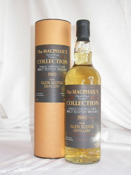 Glen Scotia 1990/2005 Gordon & MacPhail 40%vol. 0,7l