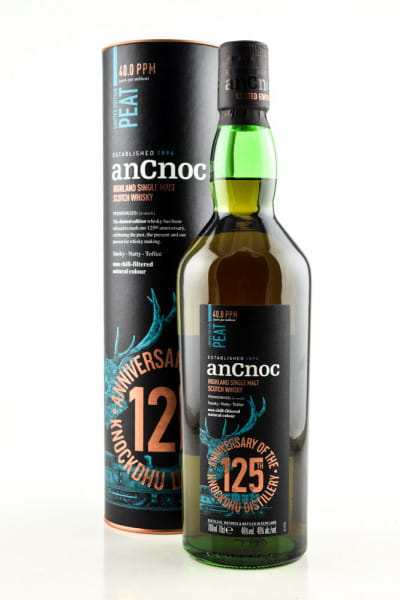 anCnoc Limited Edition Peat 125th Anniversary 46%vol. 0,7l