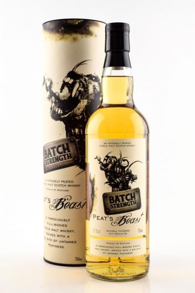 Peat's Beast Batch Strength 52,1%vol. 0,7l