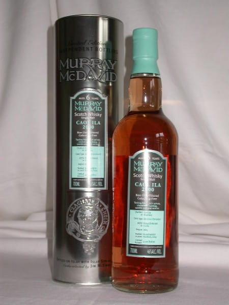 Caol Ila 2000/2006 Bourbon/Zinfandel Murray McDavid 46%vol. 0,7l