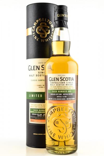 Glen Scotia 2008/2019 1st-fill Bourbon Barrel #465 53%vol. 0,7l