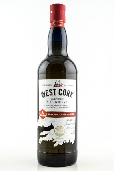 West Cork Irish Stout Cask Matured 40%vol. 0,7l