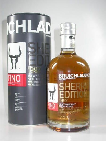 Bruichladdich Sherry Edition 2: Fino 1992/2009 46%vol. 0,7l
