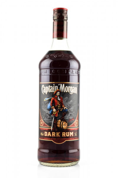Captain Morgan Dark Rum 40%vol. 1,0l