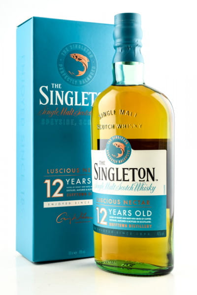 The Singleton of Dufftown 12 Jahre 40%vol. 0,7l