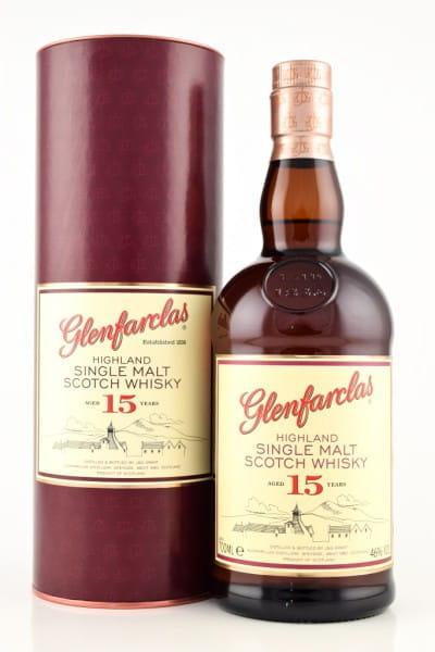 Glenfarclas 15 Jahre 46%vol. 0,7l