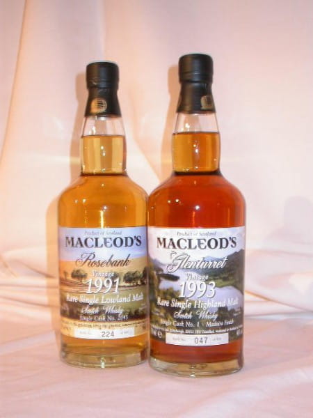 MacLeod's Pack - Glenturret & Rosebank 46%vol. 2x 0,7l