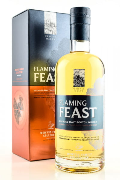 Flaming Feast Wemyss Family Collection 46%vol. 0,7l