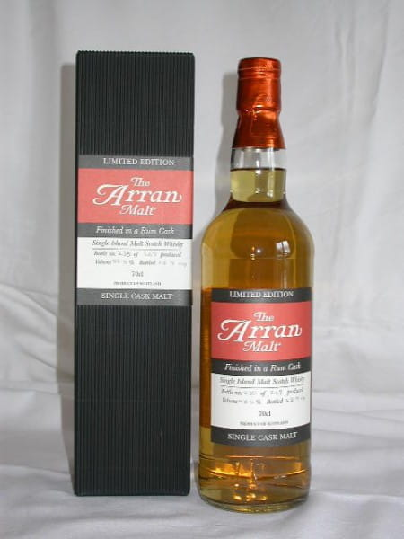 Arran Rum Finish Limited Edition 58,5%vol. 0,7l