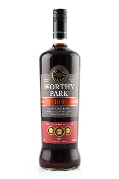Worthy Park 109 Jamaican Rum 54,5%vol. 1,0l