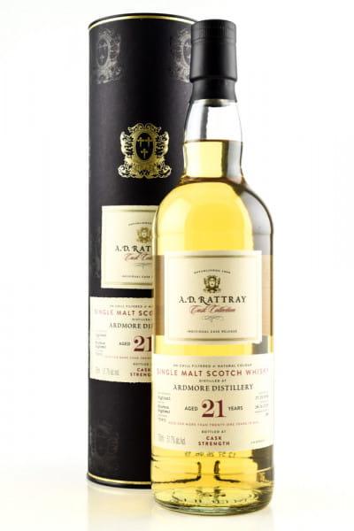 Ardmore 21 Jahre 1998/2019 Bourbon Hogshead #750802 A.D. Rattray 51,7%vol. 0,7l