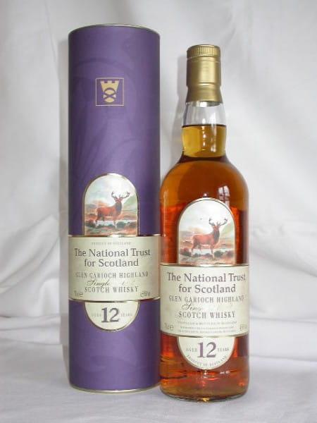 """Glen Garioch 12 Jahre """"National Trust for Scotland"""" 43%vol. 0,7l"""
