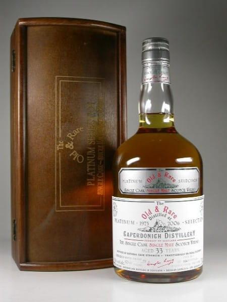 Caperdonich 33 Jahre 1973/2006 Rum Finish Douglas Laing 49,2%vol. 0,7l