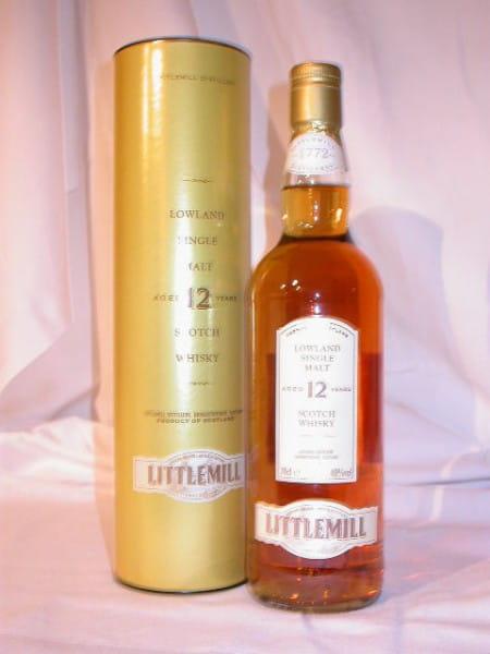 Littlemill 12 Jahre 40%vol. 0,7l